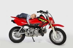 Foto Hüss - Portrait - Baby - Newborn - Motorrad - Biker