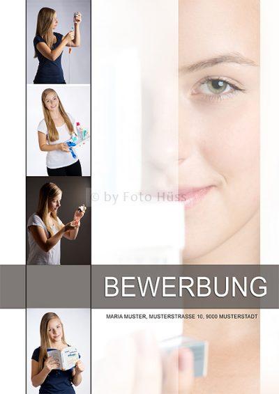 Foto Hüss - Bewerbungscover - Bewerbungsdeckblatt - FaGe - Fachfrau Gesundheit
