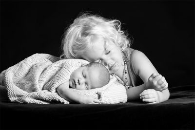 Foto Hüss - Portrait - Geschwister - süss - Schlafmützen