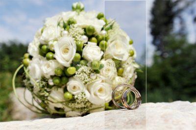 Foto Hüss - Hochzeit -Brautstrauss - Ringe