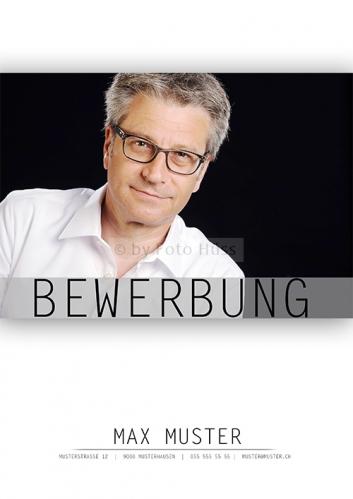 Foto Hüss - Bewerbungscover - Bewerbungsdeckblatt