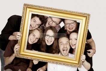 Foto Hüss - Portrait - Familie - Gruppen - lustige Familie - Rahmen