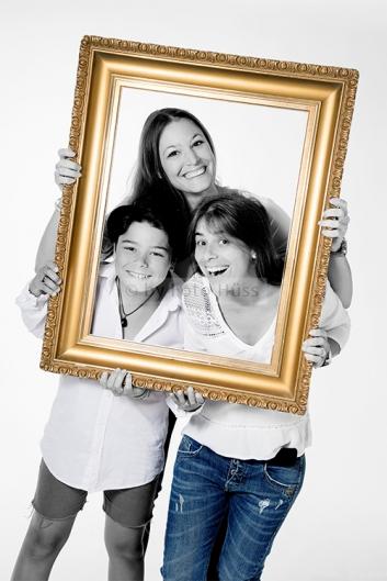 Foto Hüss - Portrait - Familie - Gruppen - Rahmen