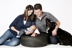 Foto Hüss - Portrait - Familie - Gruppen - Familie mit Hund