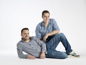 Foto Hüss - Portrait - Geschwister - Brüder