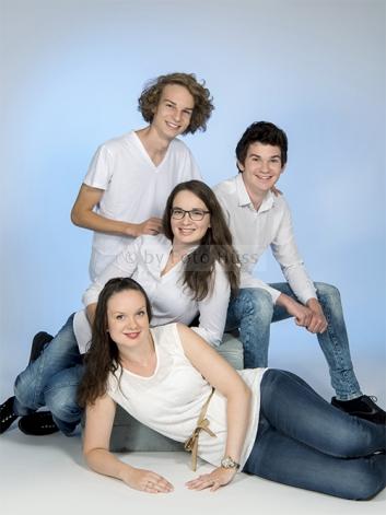 Foto Hüss - Portrait - Geschwister