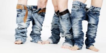 Foto Hüss - Portrait - Geschwister - Jeans