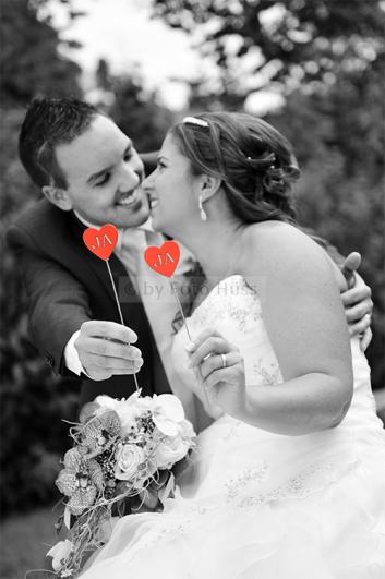Foto Hüss - Hochzeit -Herz