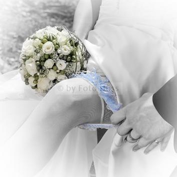 Foto Hüss - Hochzeit - Strumpfband