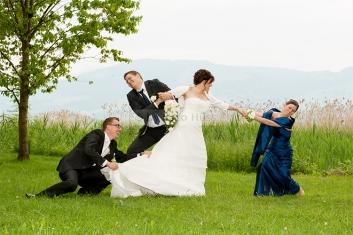 Foto Hüss - Hochzeit - lustig