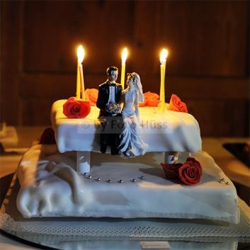 Foto Hüss - Hochzeit - Torte - Figuren