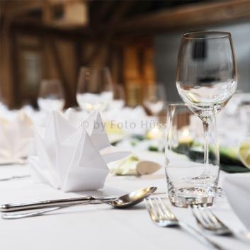 Foto Hüss - Hochzeit - Tischdekoration