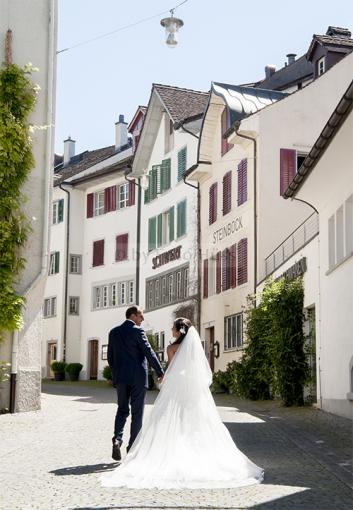 Foto Hüss - Hochzeit - Gasse