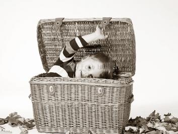 Foto Hüss - Portrait - Kinder - Korb