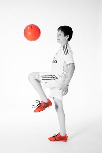 Foto Hüss - Portrait - Kinder - Fussball