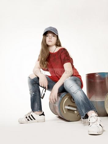 Foto Hüss - Portrait - Kinder - cooles Mädchen