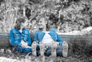 Foto Hüss - Outdoor - Portrait -  Aufnahmen - Schwestern - 2018 - Neujahr