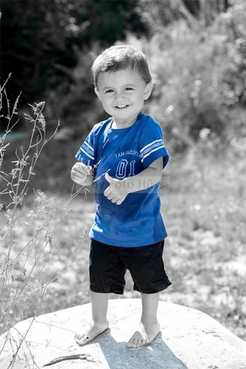Foto Hüss - Outdoor - Portrait -  Aufnahmen - Junge - Coloriert