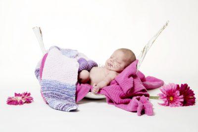 Foto Hüss - Portrait - Baby - Newborn - Süss - Rosa