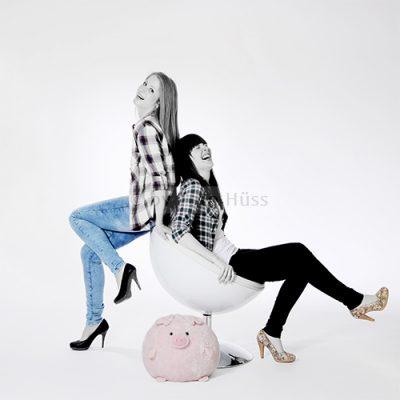 Foto Hüss - Portrait - Geschwister - Schwestern