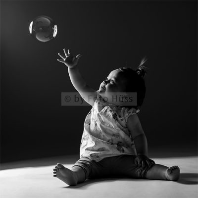 Foto Hüss - Portrait - Kinder - Seifenblase