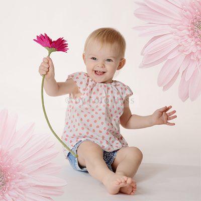 Foto Hüss - Portrait - Kinder - Blumen