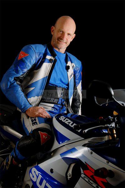 Foto Hüss - Portrait - Männer - Motorrad