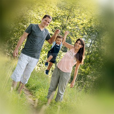 Foto Hüss - Outdoor - Portrait - Aufnahmen - Familie - Wald